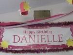 Shindigz personalized Danielle Banner