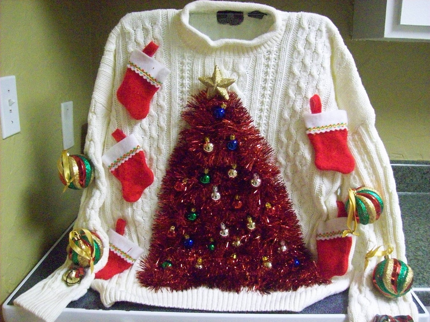 Ideas for an ugly christmas sweater